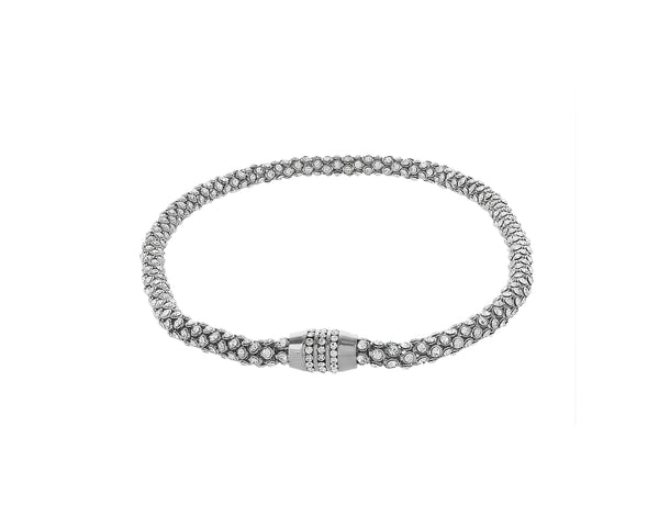 Collier Night of secret finition Rhodium