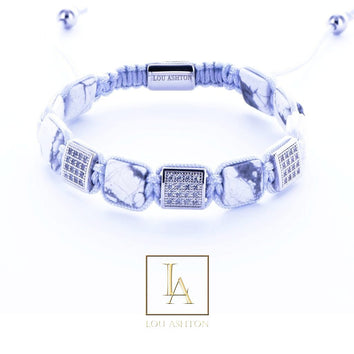 Bracelet Kiak finition rhodium