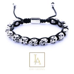 Bracelet des Pirates morts finition rhodium