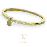 Bangle Lou Ashton finition or 18k
