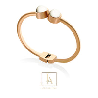 Bangle Love finition or rose