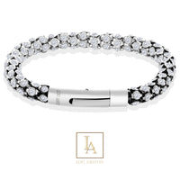 Bracelet Night of secrets finition argent