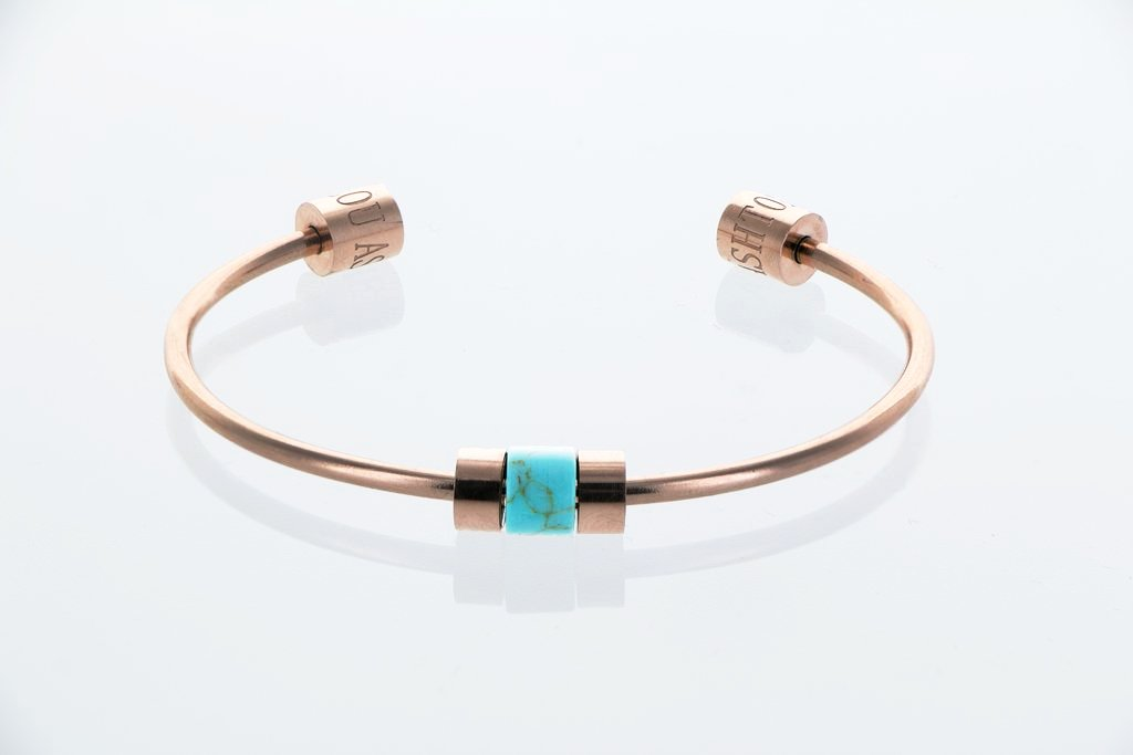 Bangle exclusif Datura Turquoise