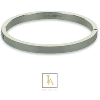 Bangle Titania finition rhodium