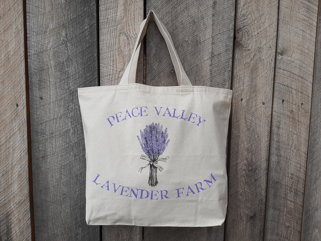Peace Valley Lavender Farm Tote Bag
