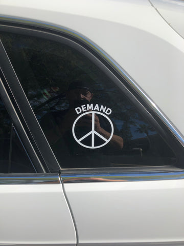 Demand Peace Stickers