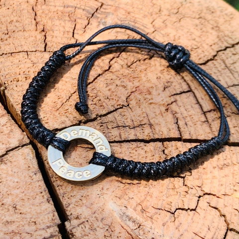 Demand Peace Bracelet