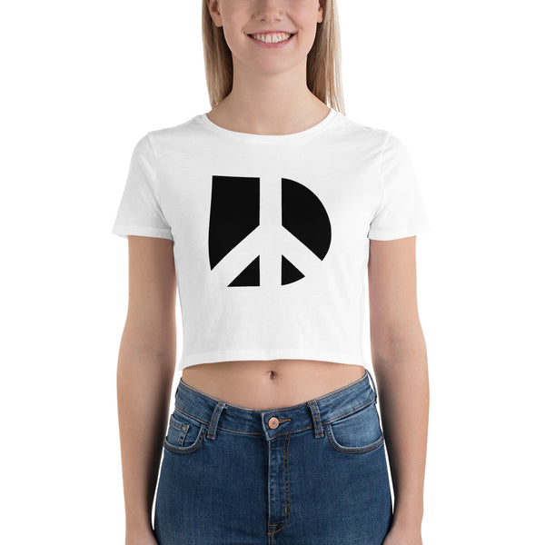 Demand Peace Crop Tee
