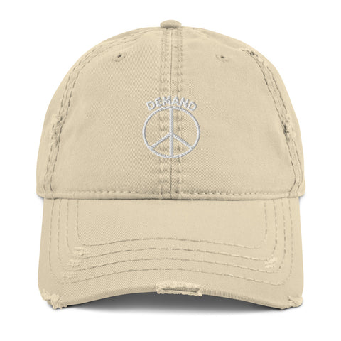 Demand Peace Torn Hat