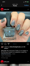 Load image into Gallery viewer, Grey Rainbow - Fantasmic Flakies Group Custom
