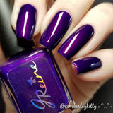 Inked in Indigo - Deep Blurple Nail Polish