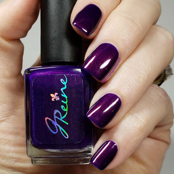 Inked in Indigo - Blurple February 18' Group Custom Nail Polish