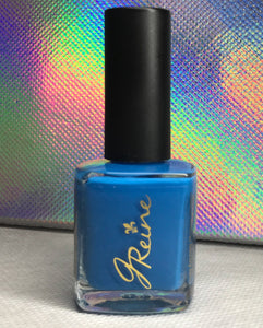 Brazen - One Coat Blue Nail Polish