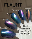Carnival Multichrome Topper Collection Nail Polish