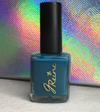 Flaunt - One Coat Teal Nail Polish