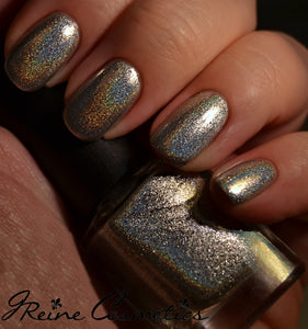 Champions Square Soiree - Silver Metallic Holographic Nail Polish