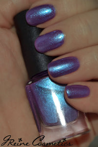 Masquerade - Blue Red Purple Duochrome Color Shifting Nail Polish