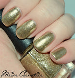 Dome Dazzle - Gold Chrome Metallic Nail Polish