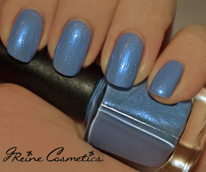 Frostbitten - blue shimmer Nail Polish