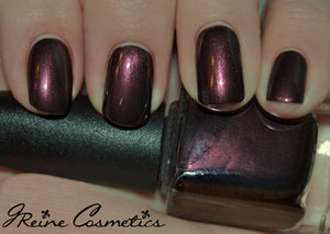 Cajun Creole Soul - Blackened Red Duochrome Nail Polish