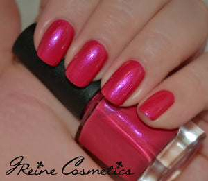 Huntress - Hot Pink shimmer Nail Polish