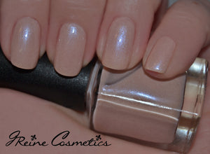 Love's Kiss - Light Nude Pink shimmer Nail Polish