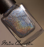 Magic In The Marigny - Light Blue Metallic Holographic Nail Polish