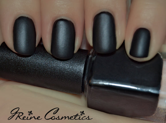 Murdered Out - Black Matte Nail Polish