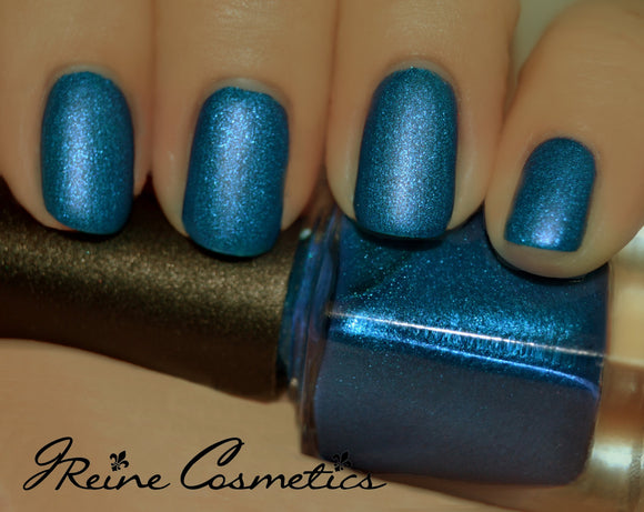 Rue Royale - Royal Blue Matte Nail Polish