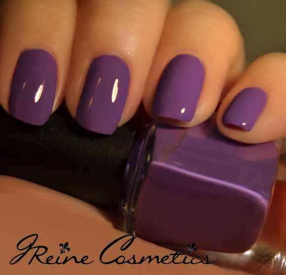 Tigers Blood - Purple Creme Nail Polish
