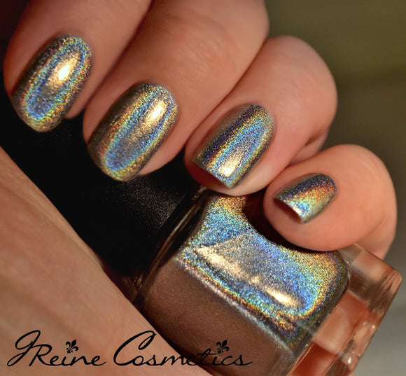 Hometown Halo - Pure Holographic Nail Polish, Linear Holographic, Mega Holo nail polish