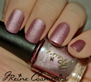 Taffy Metal - Pink Metallic Matte Nail Polish