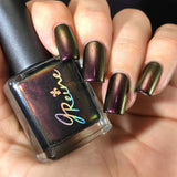 Cajun Court - Red Gold Green Ultra Multichrome Color Shifting Nail Polish