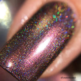 On Fleek - Red Holo Linear Holographic Nail Polish