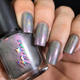 Captivating - Ultra Multichrome Holographic Nail Polish Red Gold blue green