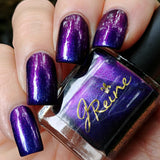 Dreamscape - Ultra Multichrome purple blue blurple shifting Nail Polish