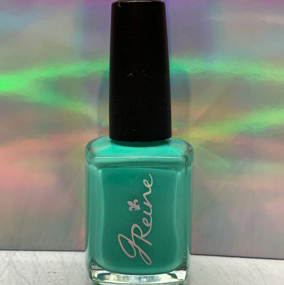 Minty - One Coat Mint Green Cream Nail Polish