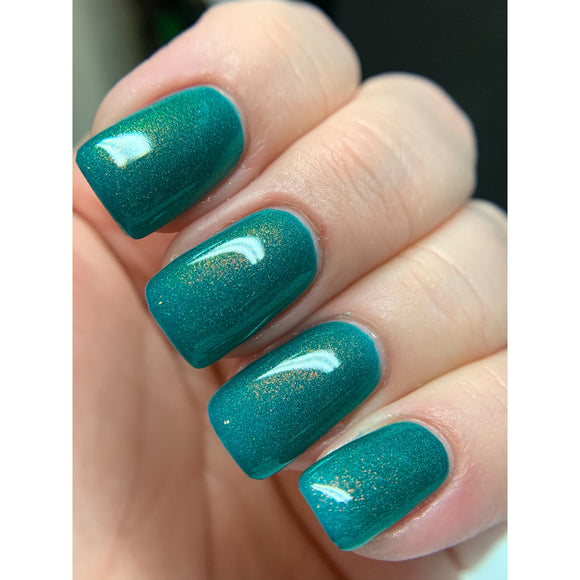 Courage & Pursuit - Teal/green OGUP polish