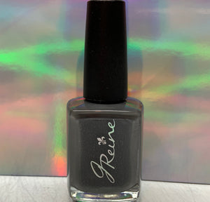 Smoked - One Coat Grey Cream Nail Polish