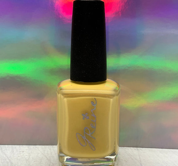 Bright - One Coat Yellow Cream Nail Polish