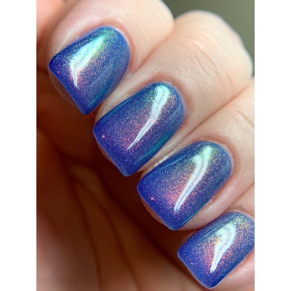 Magic in memories - Light periwinkle blue OGUP polish