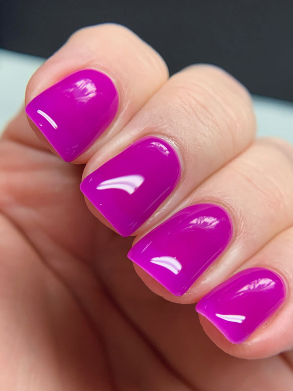 Jammin Jelly - Neon Jelly Collection Neon Purple Jelly Nail Polish