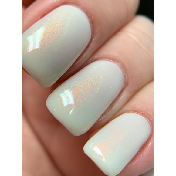 Believe - Milky White OGUP polish
