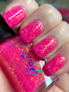 Popfetti - Neonfetti Collection Neon Pink Nail Polish