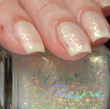 Good Gris Gris - Flakie & Aurora Matte Color Shifting Topper Nail Polish