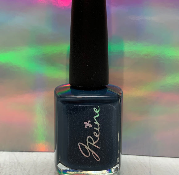 Midnight - One Coat Dark Blue Cream Nail Polish