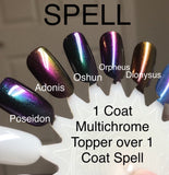 Spell - One Coat Black Creme Nail Polish