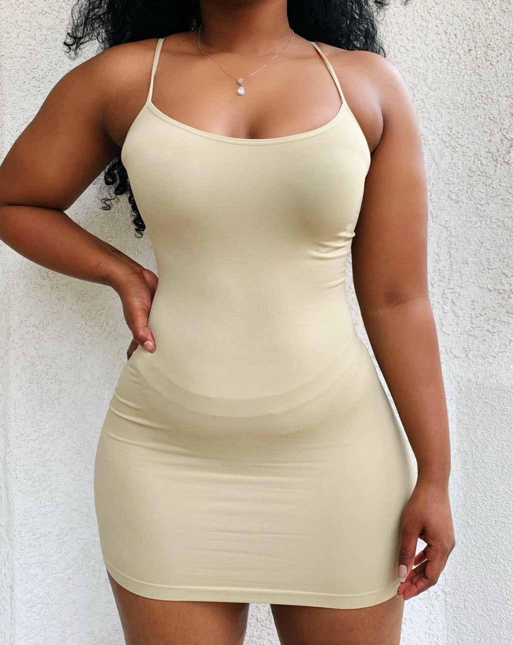 Bella Sand Cami Dress