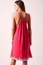 BiBi Sun Dress Fuchsia