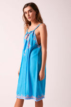 BiBi Sun Dress Turquoise